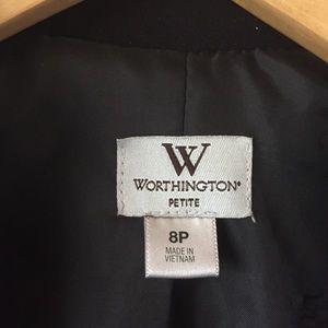 Worthington Jackets & Coats - EUC Worthington black fitted blazer jacket size 8P